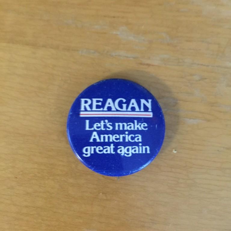 Reagan - Let's make America great again