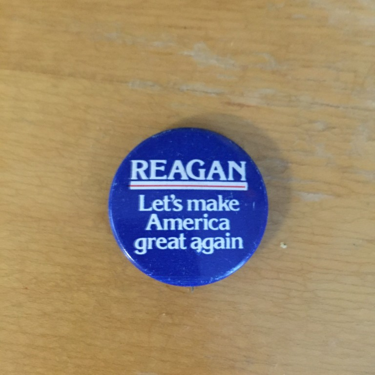 Reagan - Let's make America great again