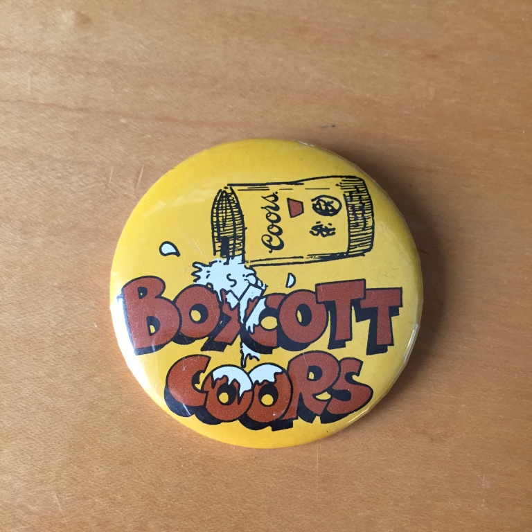 Boycott Coors